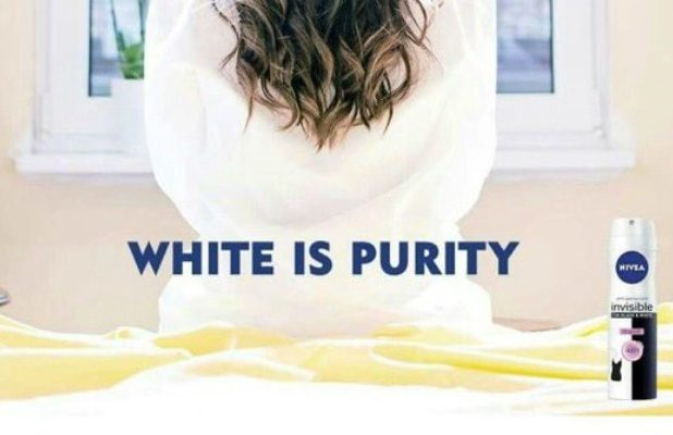 Nivea's 'White Is Purity' ad campaign did not end well