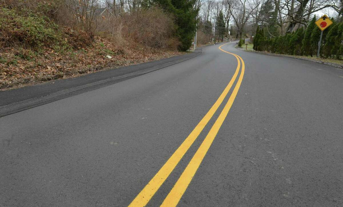 A section of Scribner Ave. between Interstate 95 and Richards Ave. that was paved by Grasso Companies LLC in Fall of 2014, on Wednesday April 45, 2017 in Norwalk Conn.