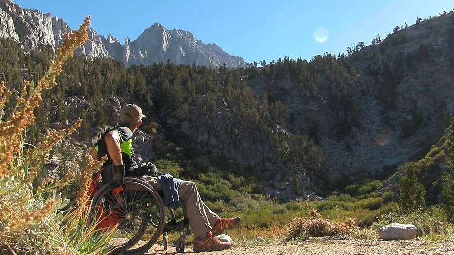"""Livermore adventurer Bob Coomber faces a big hiking challenge in the Sierra Nevada in """"4 Wheel Bob."""" Photo: Green Film Fest"""