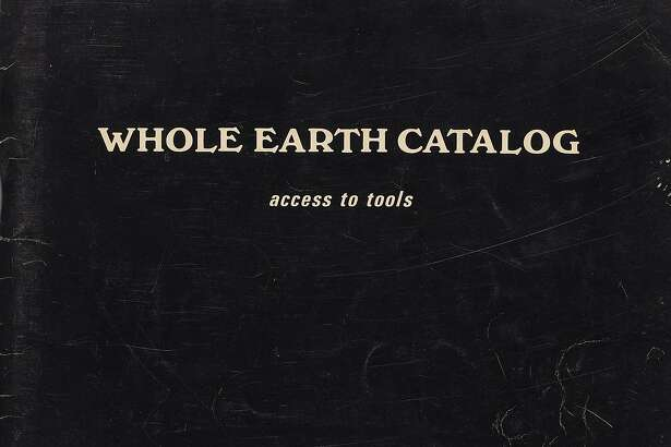 """Stewart Brand, """"Whole Earth Catalog: Access to Tools"""" (Spring, 1969). On view at de Young Museum, Summer of Love: Art, Fashion, and Rock & Roll, April 8 - Aug. 20, 2017 Image Courtesy of the Fine Arts Museums of San Francisco"""