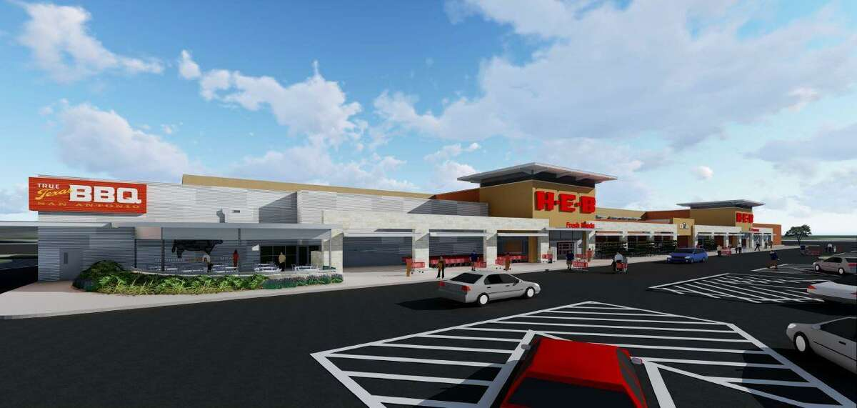 H-E-B plans to open a new 118,000-square-foot store in August atBulverde Marketplace, a retail center being developed by local firm Fulcrum Development on the southwest corner of Loop 1604 and Bulverde Road.