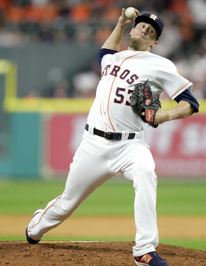 In his first blown save of the season in eight opportunities, Ken Giles threw 17 sliders to only four fastballs. Photo: Elizabeth Conley/Houston Chronicle