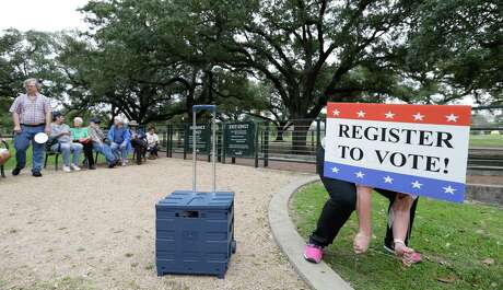 Today is the last day that voters can register for Pasadena's upcoming races for mayor and City Council. Early voting runs from Monday, April 24 to Tuesday, May 2. Election Day is Saturday, May 6.  ( Melissa Phillip / Houston Chronicle )