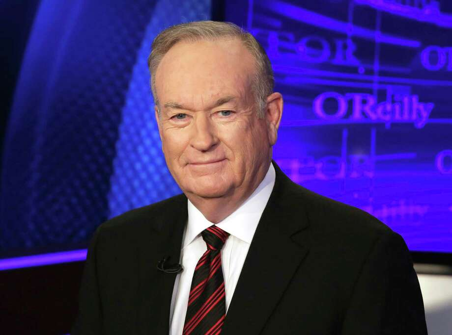 "FILE - In this Oct. 1, 2015 file photo, Bill O'Reilly of the Fox News Channel program ""The O'Reilly Factor,"" poses for photos in New York. O'Reilly didn't discuss harassment allegations detailed against over the weekend in his first show back at work, Monday, April 3, 2017.  A story on Sunday by The New York Times outlined how five women who said O'Reilly had either sexually harassed or verbally abused him had been paid a total of $13 million in settlements. (AP Photo/Richard Drew, File) Photo: Richard Drew, STF / Copyright 2016 The Associated Press. All rights reserved. This material may not be published, broadcast, rewritten or redistribu"