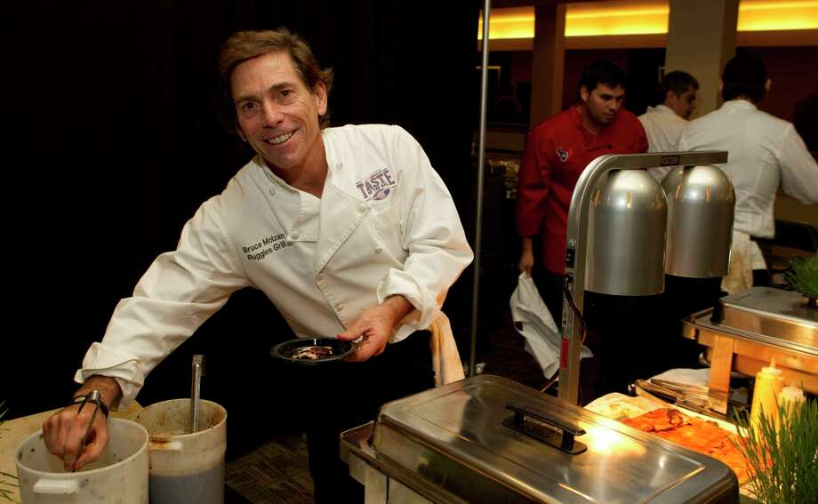 Houston chef and restaurateur Bruce Molzan has has been a player in the local restaurant scene for four decades. Photo: Brett Coomer, Staff / Houston Chronicle