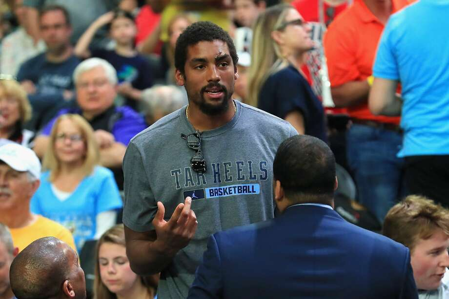 GLENDALE, AZ - APRIL 03: NBA player James Michael McAdoo of the Golden State Warriors attends the game between the Gonzaga Bulldogs and the North Carolina Tar Heels during the 2017 NCAA Men's Final Four National Championship game at University of Phoenix Stadium on April 3, 2017 in Glendale, Arizona.  (Photo by Tom Pennington/Getty Images) Photo: Tom Pennington, Getty Images