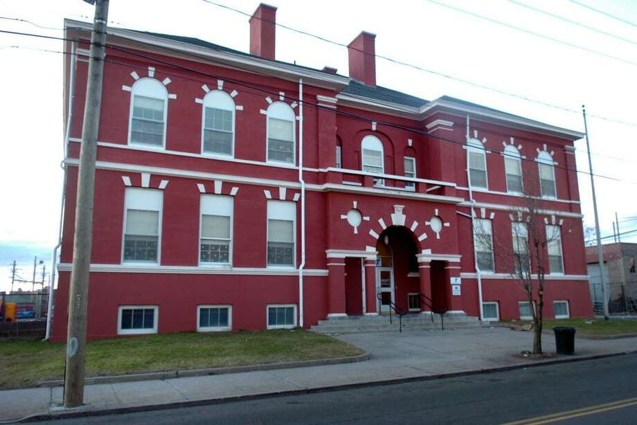 Exterior of Bridge Academy, in Bridgeport, Conn. Jan. 2nd, 2012. Photo: Ned Gerard / Ned Gerard / Connecticut Post
