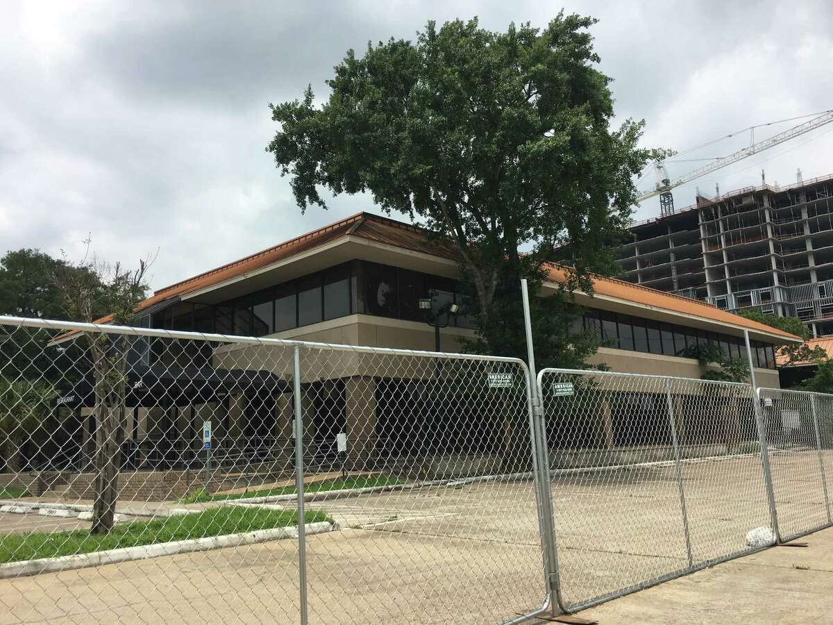 This 1970s-era office complex has been cleared for the Stonelake project.