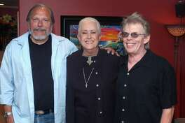 UNITED STATES - JANUARY 01:  Photo of Grace SLICK and JEFFERSON AIRPLANE and Jorma KAUKONEN and Jack CASADY; Jorma Kaukonen, Grace Slick, Jack Casady  (Photo by Robert Knight Archive/Redferns)