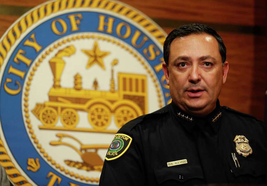 Police Chief Art Acevedo, seen here on March 1, joined chiefs in Dallas, Fort Worth, Austin, San Antonio and Arlington in opposing the bill. Photo: Karen Warren, Staff Photographer / 2017 Houston Chronicle