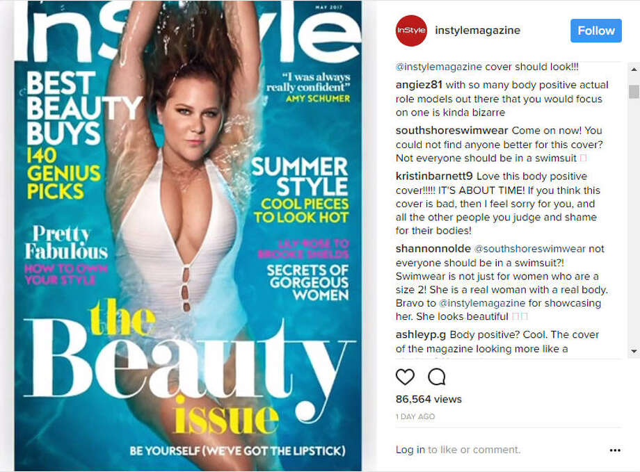 "A swimsuit designer is under fire after commenting that not ""everyone should be in a swimsuit"" on an Instagram post featuring Amy Schumer as the cover model for InStyle.
