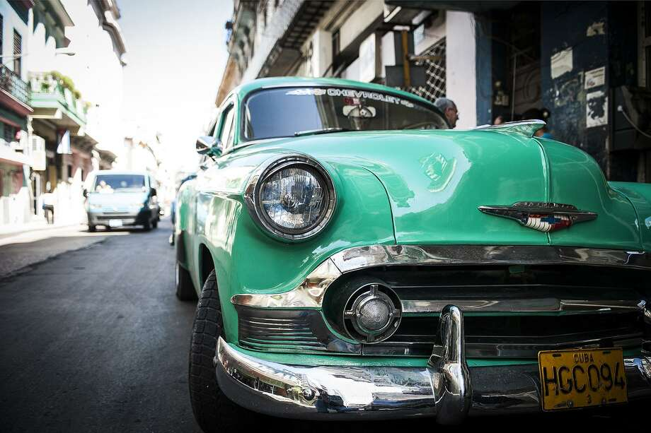 "Minor Memorial Library in Roxbury is presenting an exhibit, ""Cuba in Transition,"" through April 14. The show features photographs by New Milford photographer Rich Pomerantz. Photo: Courtesy Of Rich Pomerantz / Rich Pomerantz"