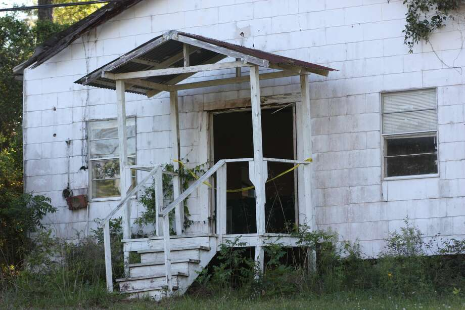A caretaker for an abandoned church in Kenefick made a startling discovery Wednesday morning when he discovered the badly decomposed remains of a woman inside a church located in the 5900 block of FM 1008. Photo: Vanesa Brashier/Dayton Advocate