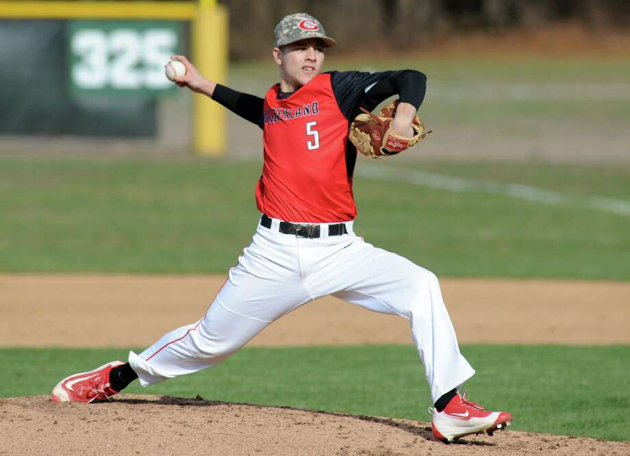 Nick Grabek, Sr., P/3B, Guilderland: A senior captain, Grabek will be counted on for production on the mound, at the plate and in the dugout for a young Dutchmen squad. (Michael P. Farrell/Times Union) Photo: Michael P. Farrell / 10036139A