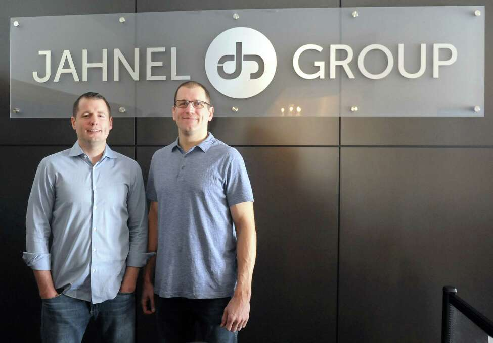 Darrin and Jason Jahnel, founders of software and consulting group Jahnel Group in Schenectady, N.Y. (Robert Downen/Times Union)