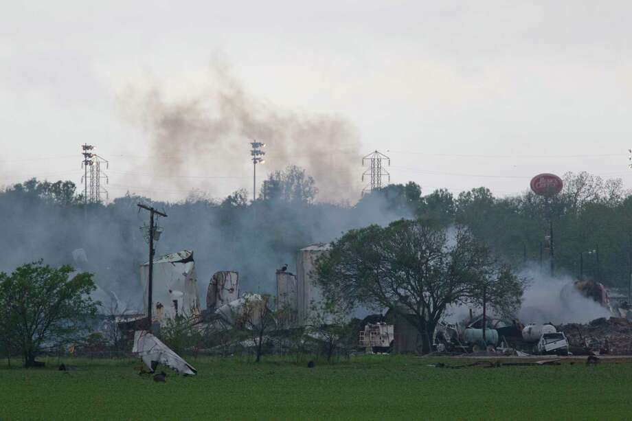 Our nation has a major industrial fire, explosion or chemical release, like the West Fertilizer Co. explosion, every 2½ days. Photo: Johnny Hanson, Staff / © 2013  Houston Chronicle