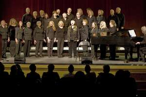 Members of the Ridgefield Chorale perform at the Martin Luther King Day celebration in the Ridgefield Playhouse. Monday, Jan. 20, 2014