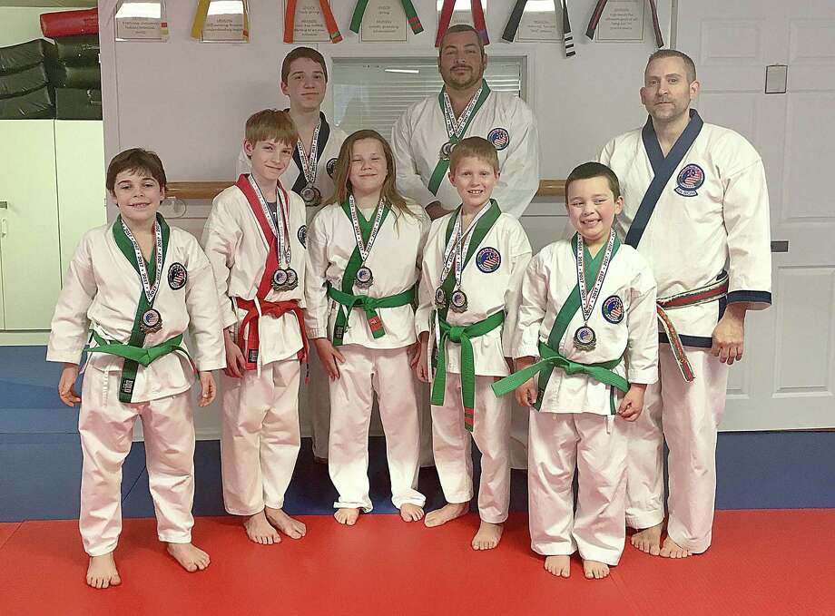 On Saturday March 18th, students of Wilton Martial Arts under the instruction of Master David Bankowski won numerous medals at the 2017 Greenwich Tang Soo Do. Championship. Photo: Contributed Photo / Hearst Connecticut Media / Norwalk Hour
