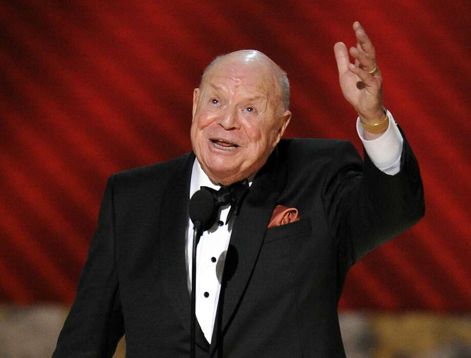 """FILE - In this Sept. 21, 2008 file photo, Don Rickles is honored for best individual performance in a variety or music program for """"Mr. Warmth: The Don Rickles Project,"""" at the 60th Primetime Emmy Awards in Los Angeles. Rickles, the hollering, bald-headed """"Merchant of Venom"""" whose barrage of barbs upon the meek and the mighty endeared him to audiences and his peers for decades died, Thursday, April 6, 2017 at his home in Los Angeles. He was 90.  (AP Photo/Mark J. Terrill, File) Photo: Mark J. Terrill, Associated Press"""