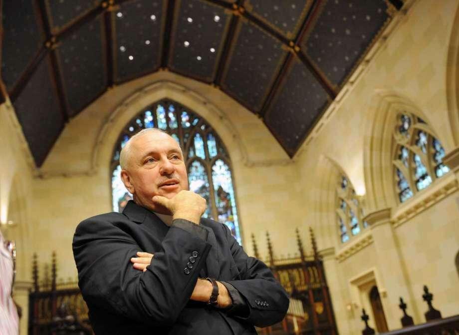 The Rev. James Lemler recently announced his retirement. Photo: / Hearst Media /Tyler Sizemore