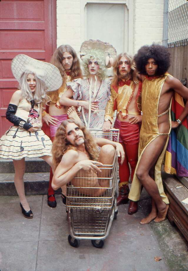 Adding to the wild scene of the '60s and early 1970s in San Francisco was the Cockettes and their glittery, drug-infused, thrift-store-drag musicals. But was their one person behind this group? Photo: Courtesy David Miller, From The Estate Of Clay Geerdes