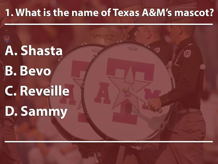 Aggie quiz Photo: Houston Chronicle, Getty