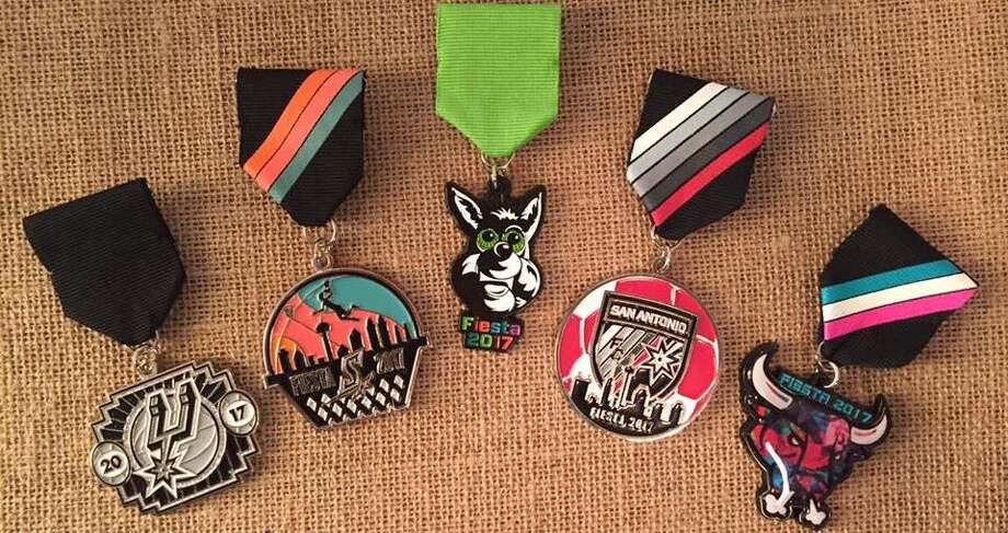Catching an Uber downtown on Friday might win you exclusive San Antonio Spurs Fiesta medals, straight out of the Coyote's furry hand.