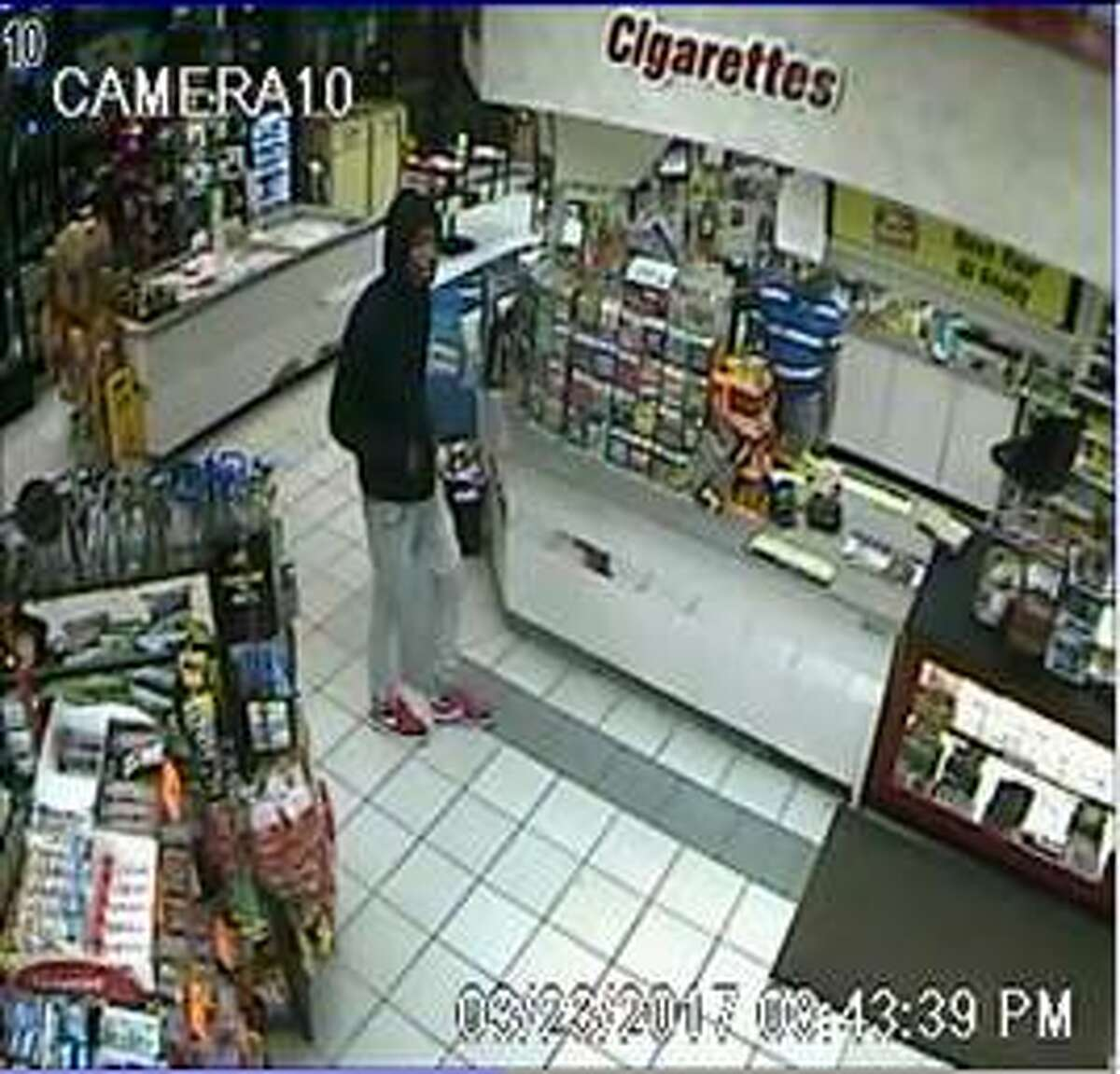 Sugar Land investigators are looking for two men who robbed a Citgo gas station at gunpoint on Thursday, March 23.
