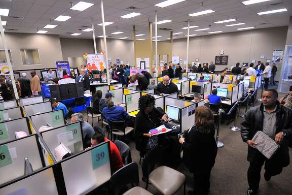 The Workforce Solutions Alamo job fair Wednesday was expected to attract500-800 job seekers.