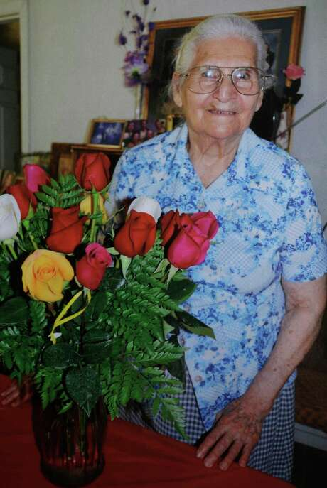Manuela Chapa, on her 85th birthday in 2012. Photo: Family Photo / Family photo