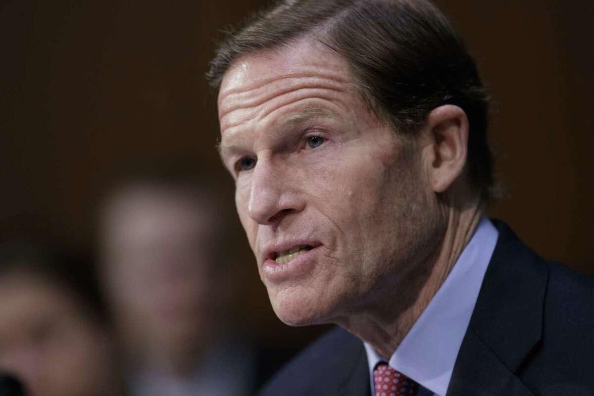 Sen. Richard Blumenthal, D-Conn. (AP Photo/J. Scott Applewhite)