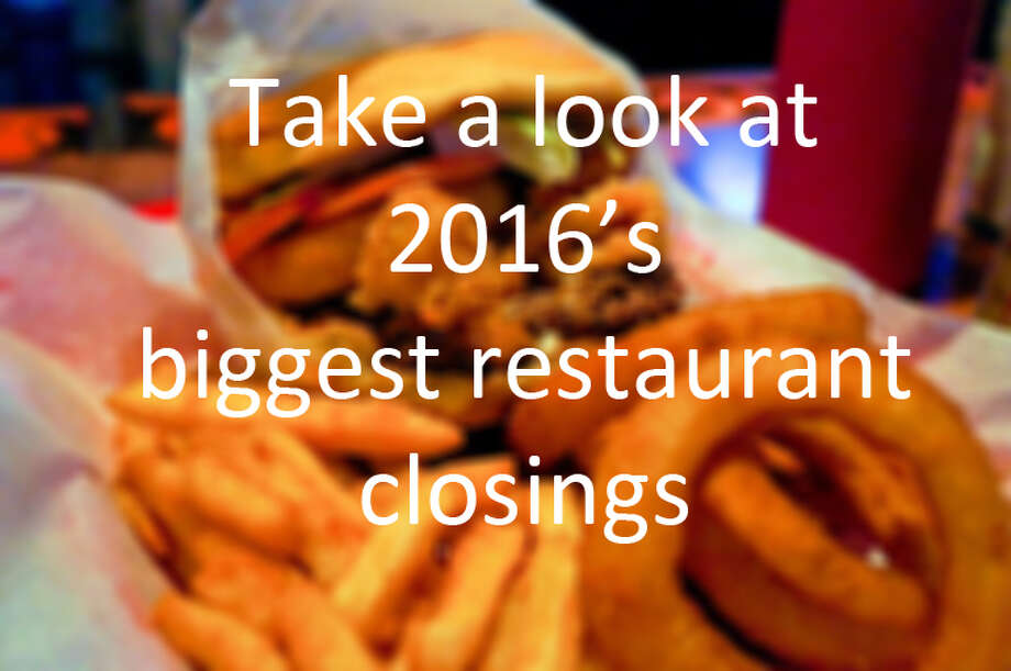 Click to see last year's biggest bar and restaurant closings.