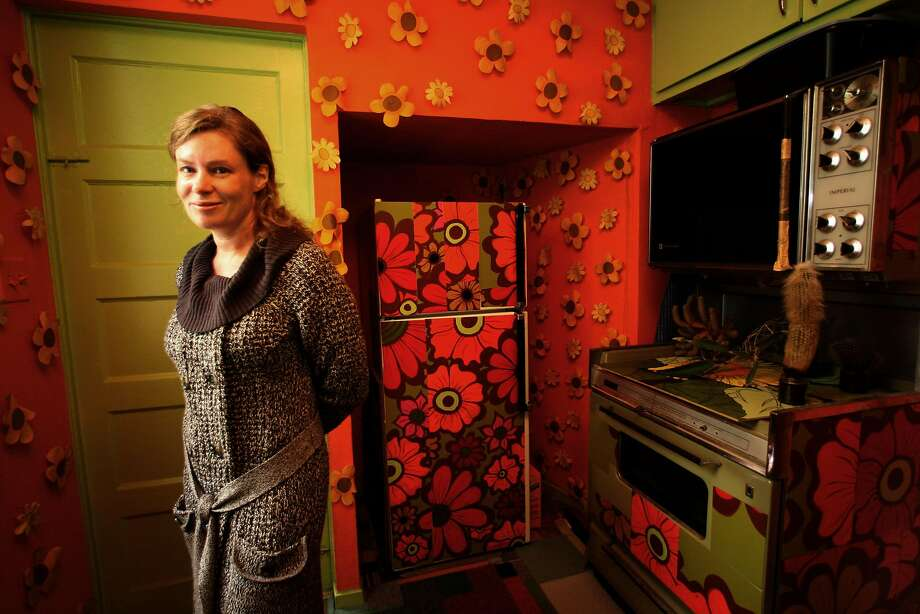 """Artist Megan Wilson spent five years turning her house into an artwork called """"Home."""" Photo: Liz Hafalia, The Chronicle"""