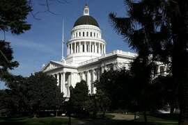 SACRAMENTO, CA - FEBRUARY 19:  A view of the California State Capitol February 19, 2009 in Sacramento, California. After days of wrangling, the California State Senate secured the necessary two-thirds majority to pass a $41 billion budget after Sen. Abel Maldonado (R-Santa Maria) broke party lines and voted for the budget.  (Photo by Justin Sullivan/Getty Images)