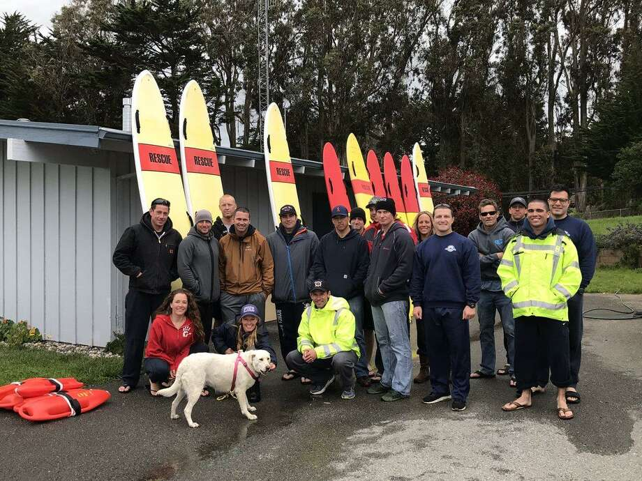 Yoda the dog was rescued Thursday following days of fending for herself after her owner died in a boating accident. Photo: Marin County Fire / Marin County Fire / Marin County Fire