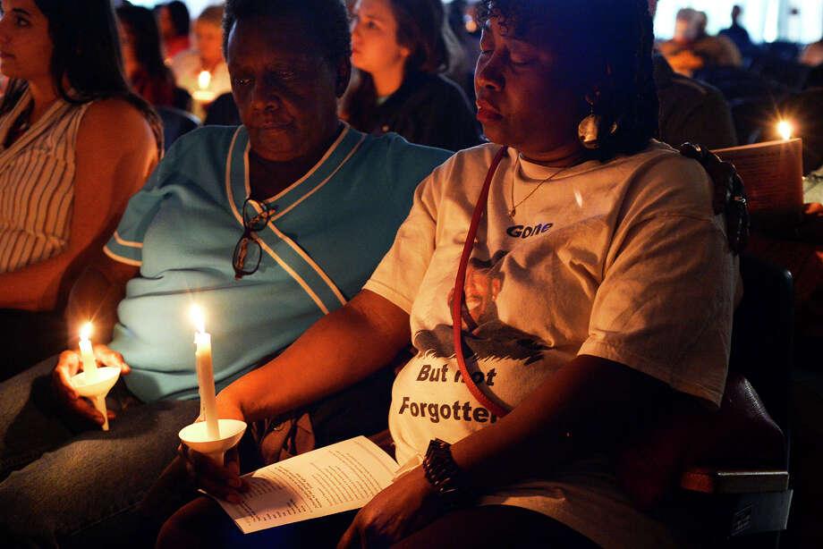 Vigil Honors Crime Victims Beaumont Enterprise