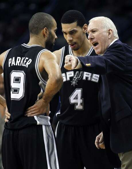 """Head coach Gregg Popovich famously told his Spurs: """"I want some nasty!"""" Photo: Gerald Herbert / Gerald Herbert / Associated Press 2012 / AP"""