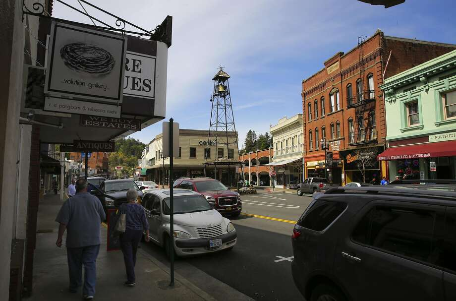 Shops and restaurants attract visitors to downtown Placerville. Photo: Michael Macor, The Chronicle