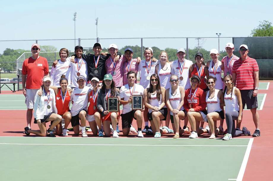 The Woodlands boys and girls tennis teams both placed first at the District 12-6A tournament.
