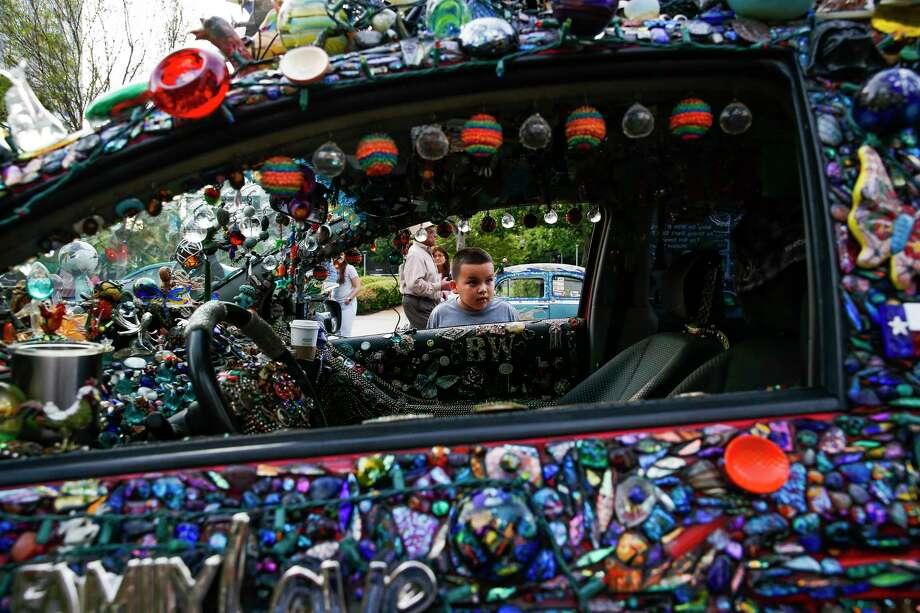 An art car. Photo: Michael Ciaglo, Staff / Michael Ciaglo