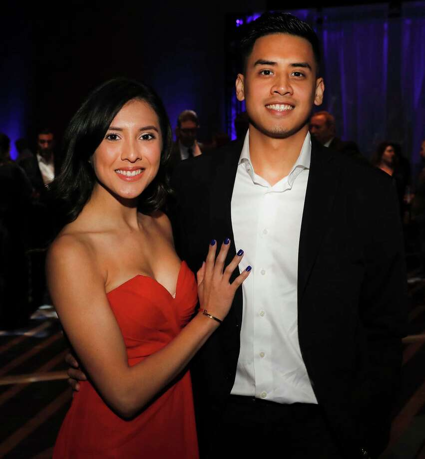 Sceensters at the Marriott Marquis Houston grand opening in Houston, Texas. Photo: For The Chronicle / Houston Chronicle
