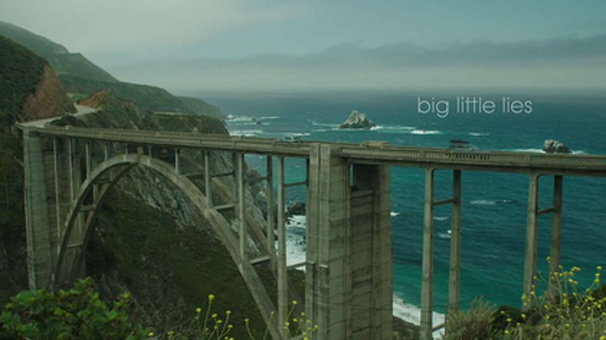 BIXBY BRIDGE, BIG SUR: On the show The opening credits flaunt the California coast's epic scenery with a shot of this iconic Big Sur bridge.