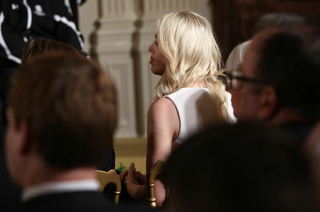 tiffany trump visits white house for the first time since trump
