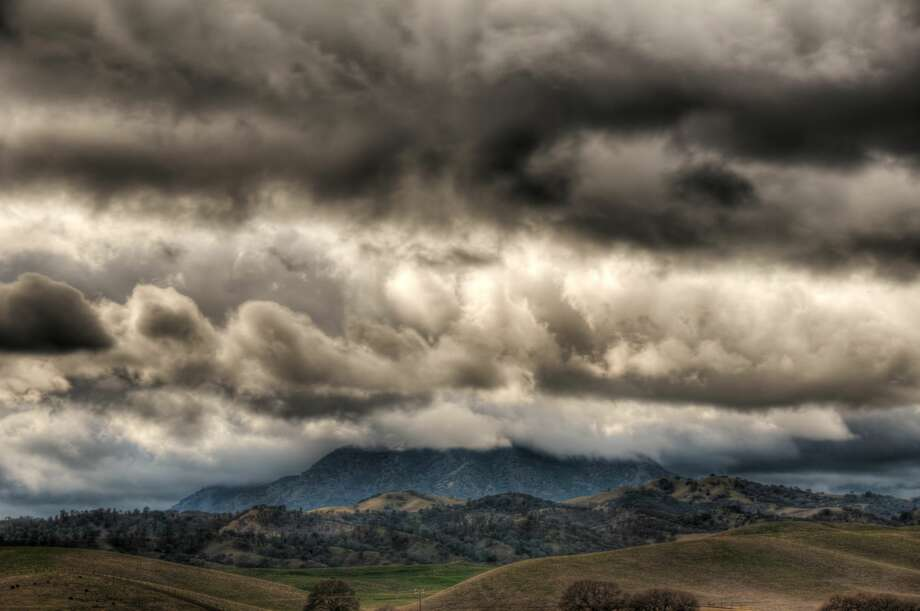 A 76 mph wind gust was recorded atop Mount Diablo at 10:15 p.m. on April 6, 2017. (stock photo) Photo: Toddarbini/Getty Images
