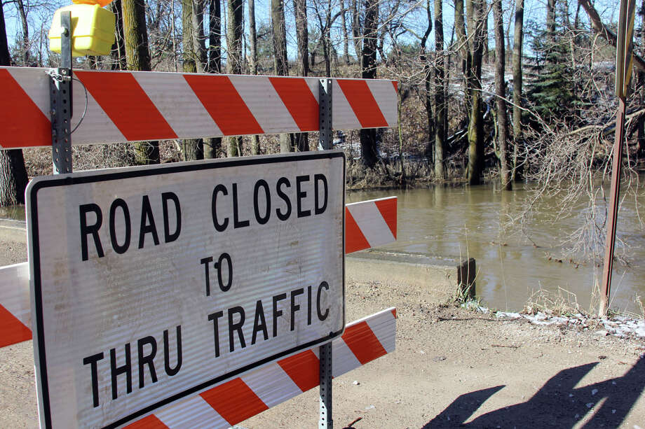 Hartsell Road is closed between Sebewaing and Canboro roads due to high water in the Pigeon River. Huron County Road Commissions officials say it could be a week or more before the road is opened.
