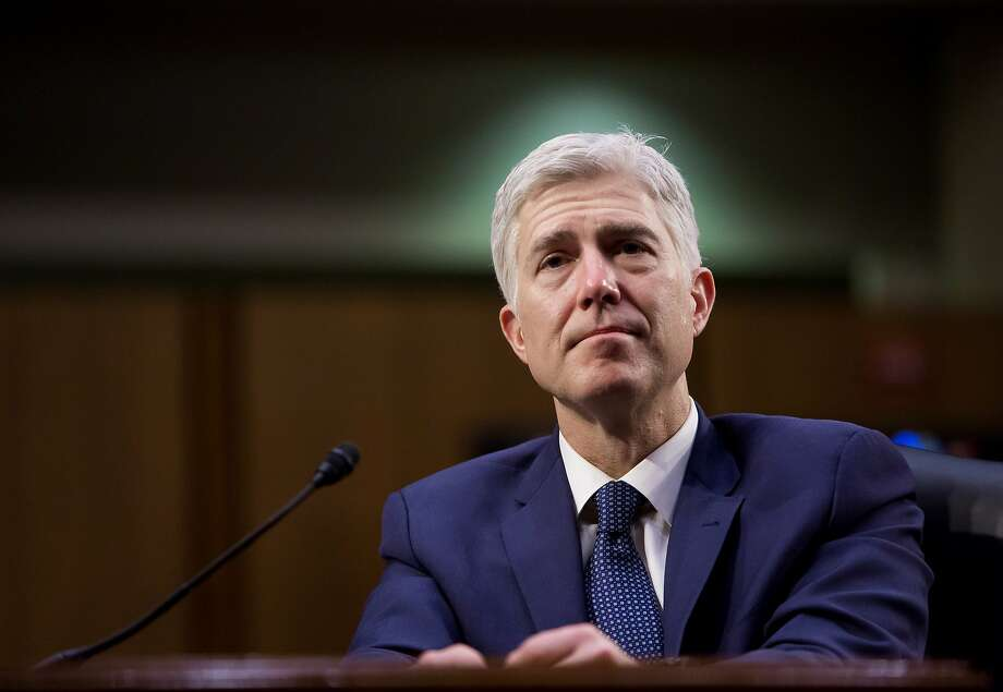 Judge Neil Gorsuch, President Trump's nominee for the Supreme Court, was confirmed by the Senate Friday to replace a vacancy on the high court left by the death of conservative Justice Antonin Scalia. Photo: ERIC THAYER, NYT