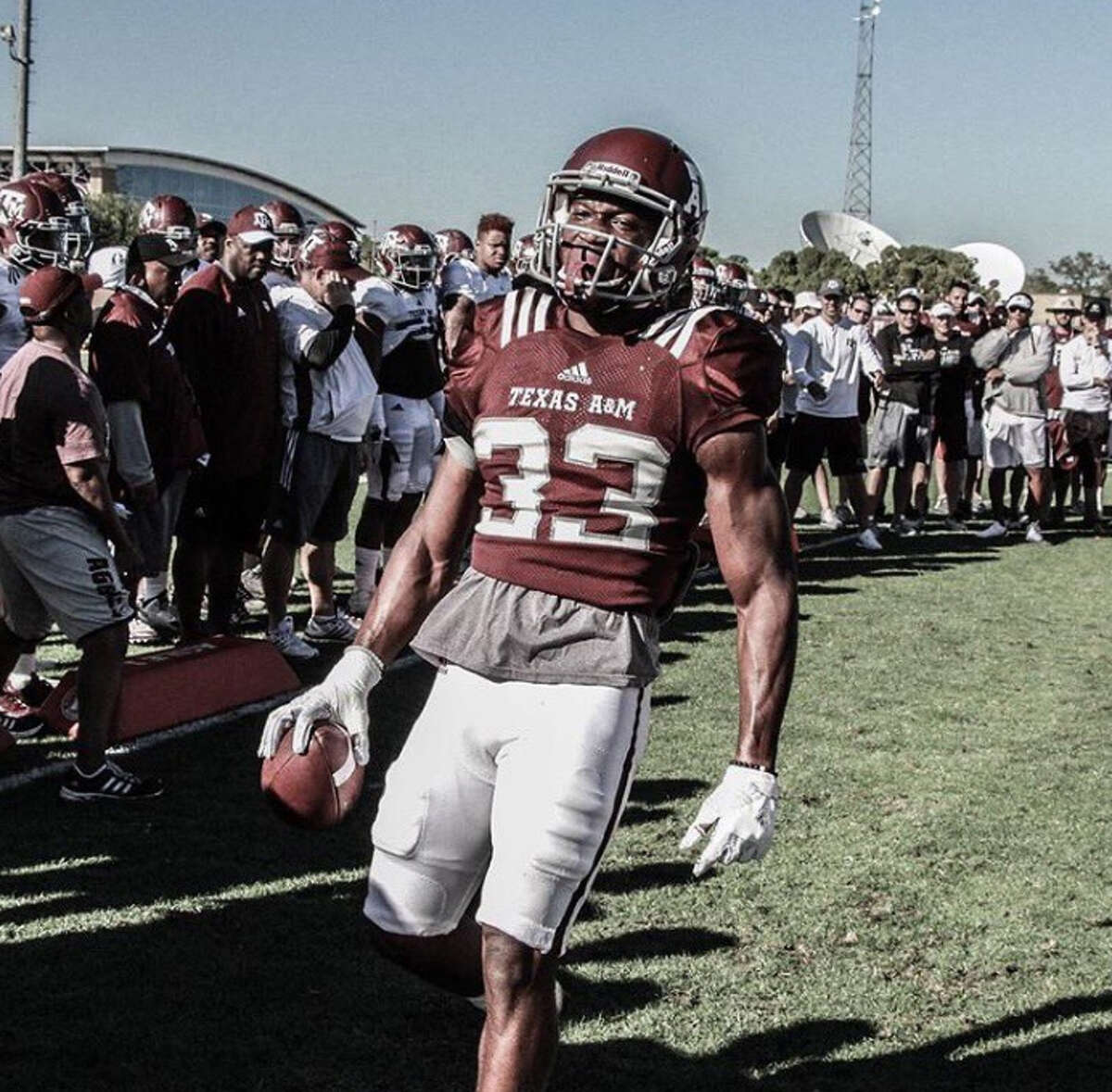 PHOTOS: Texas A&M football players in trouble with the law Texas A&M sophomore receiver Kirk Merritt has pleaded not guilty to two charges of indecent exposure from last fall. See what other Aggie football players have been arrested since 2010 ...