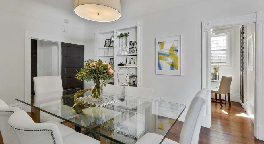 The flat resides in a Eureka Valley Edwardian built in 1901. / ONLINE_CHECK