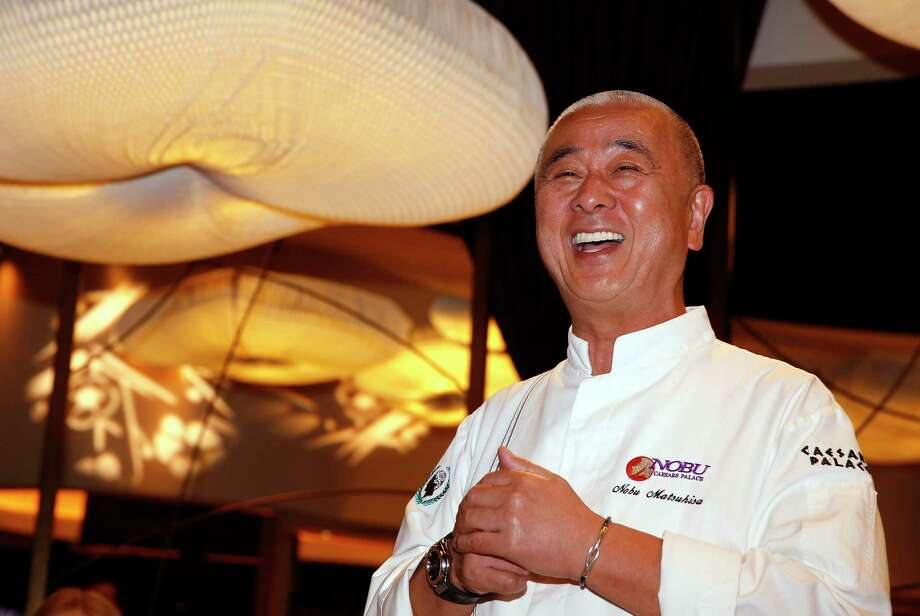 Chef Nobu Matsuhisa of Nobu restaurant during Vegas Uncork'd by Bon Appetit. The 2017 wine and food festival takes place April 27-30. Photo: Vegas Uncork'd