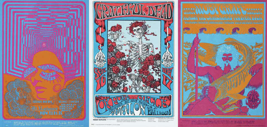 """""""The Summer of Love Experience: Art, Fashion, and Rock & Roll"""" exhibit runs through Aug. 20 at the de Young Museum. Photo: Courtesy Of The Fine Arts Museums Of San Francisco"""